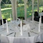 Serviceudlejning til luksus middagsbord